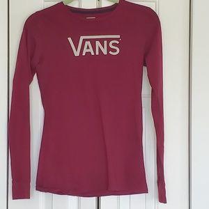 Van's t-shirt size s